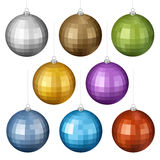 Christmas Balls Set Royalty Free Stock Image