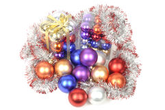 Christmas Balls Sets Royalty Free Stock Photography