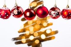 Christmas balls. Some special christmas balls looks beautiful Stock Photo