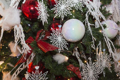 Christmas balls, traditional decorations for xtmas Royalty Free Stock Photo