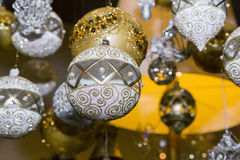 Christmas balls, traditional decorations for xtmas Stock Photo