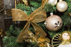 Christmas balls, traditional decorations for xtmas Stock Photos