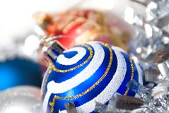 Christmas balls. xmas Royalty Free Stock Photo