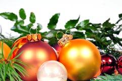 Christmas balls xmas Stock Photo