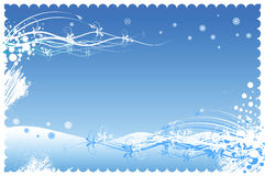 Christmas-baner Royalty Free Stock Image