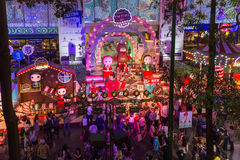 Christmas in Bangkok Stock Photography