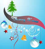Christmas banner. Abstract  illustration for design Royalty Free Stock Photos