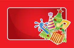 Christmas banner Stock Photography
