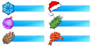 Christmas banner Royalty Free Stock Photo