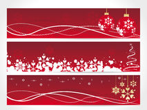 CHRISTMAS BANNER royalty free stock photo