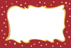 Christmas Banner. Festive holiday banner with a large white space for writing Stock Photos