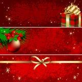 Christmas banner Stock Photos