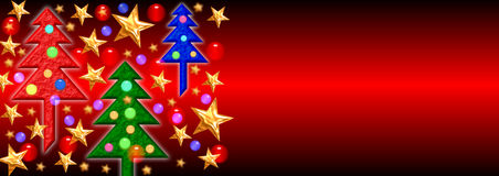 Christmas Banner 2 Stock Photography