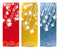 Christmas banner. Set of vector Christmas banner and for the new year Stock Image