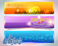 Christmas Banner. Vector banner, you can change this image that it was uploaded also with eps10 file Stock Image