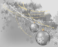 Christmas banner_3 Stock Photography