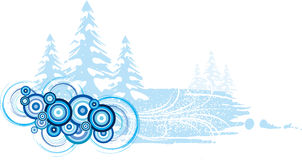 Christmas banner. Royalty Free Stock Images