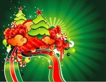 Christmas banner  Royalty Free Stock Photos