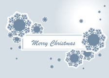 Christmas banner. Abstract illustration. Suits well  for design Stock Photo