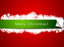 Christmas Banner Background Royalty Free Stock Images