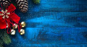 Christmas banner. Background Xmas design for Horizontal christma royalty free stock photos