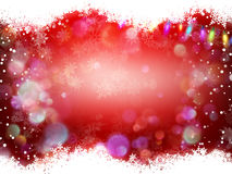 Christmas banner with baubles. EPS 10 royalty free illustration