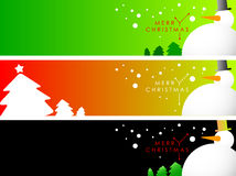 Christmas Banner/ Bookmark Royalty Free Stock Photography