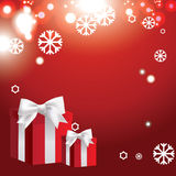Christmas banner with Christmas balls Royalty Free Stock Photography