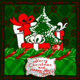 Christmas banner design Royalty Free Stock Image