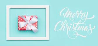Christmas banner. Pastel blue festive winter holidays backdrop. stock images