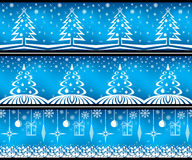 Christmas banner set. Royalty Free Stock Images