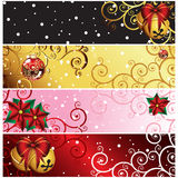 Christmas banner set.. Christmas banner set  - an illustration for yor design project. Very easy to edit  file Royalty Free Stock Photography