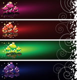 Christmas banner set.   Stock Photography