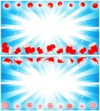 Christmas banner set Royalty Free Stock Photo