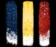 Christmas banner set. Holiday vector Royalty Free Stock Photography