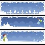Christmas banner 01 Stock Photography