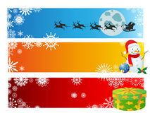 Christmas banner set Stock Photo