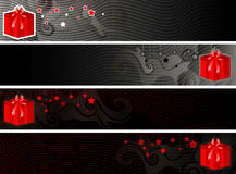 Christmas banner set eps8 Stock Photo