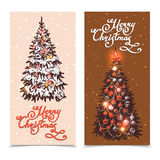 Christmas Banner Set Royalty Free Stock Image