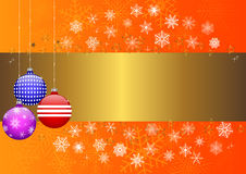 Christmas banner. vector 10eps. Stock Photos