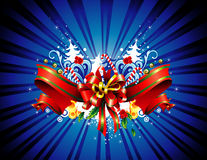 Christmas banner vector Stock Image