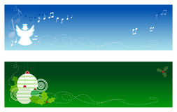 Christmas Banners #1 Royalty Free Stock Photos