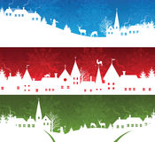Christmas banners. Stock Image