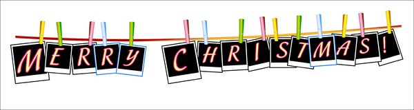 Christmas banners. Stock Images