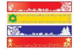 Christmas banners 2 Stock Photography