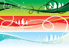Christmas banners 2 Stock Photos