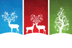 Christmas banners. Royalty Free Stock Image