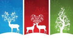 Christmas banners. Royalty Free Stock Image