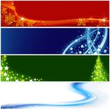 Christmas Banners stock illustration