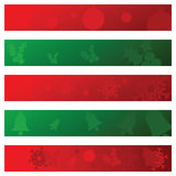 Christmas banners 3 Stock Photo